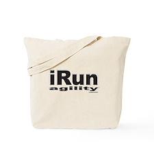 iRun agility B/w Tote Bag