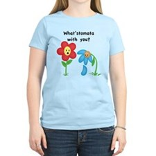 """What'stomata with you?"" Women's T-Shirt"