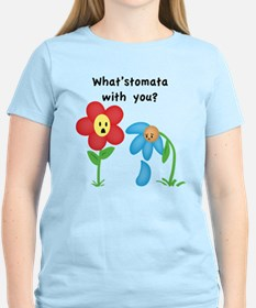 """""""What'stomata with you?"""" Women's T-Shirt"""