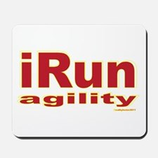 iRun agility Red/Yellow Mousepad