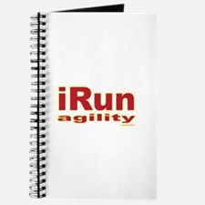 iRun agility Red/Yellow Journal