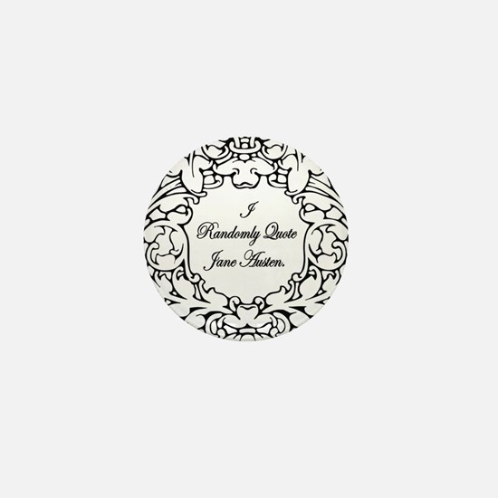 Jane Austen Gift Mini Button