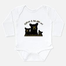 Grin & Bear it! Long Sleeve Infant Bodysuit