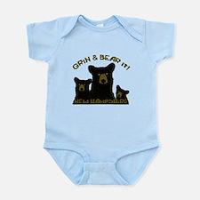 Grin & Bear it! Infant Bodysuit