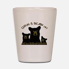 Grin & Bear it! Shot Glass