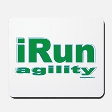 iRun agility Green/Yellow Mousepad