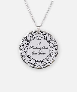 Jane Austen and Darcy designs Necklace