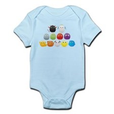 Furry Little Monsters Infant Bodysuit