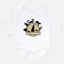 New Hampshire Long Sleeve Infant Bodysuit