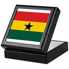 Ghana Flag Keepsake Box