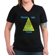 Wisconsin Food Pyramid Shirt