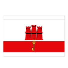 Flag of Gibraltar Postcards (Package of 8)