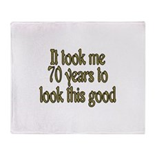 Funny Took a look Throw Blanket