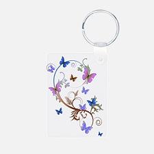 Blue & Purple Butterflies Keychains
