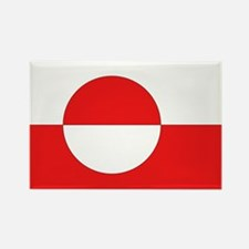 Flag of Greenland Rectangle Magnet