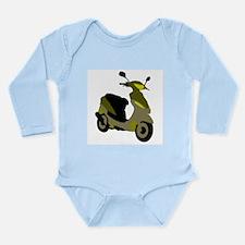 Scooter Long Sleeve Infant Bodysuit