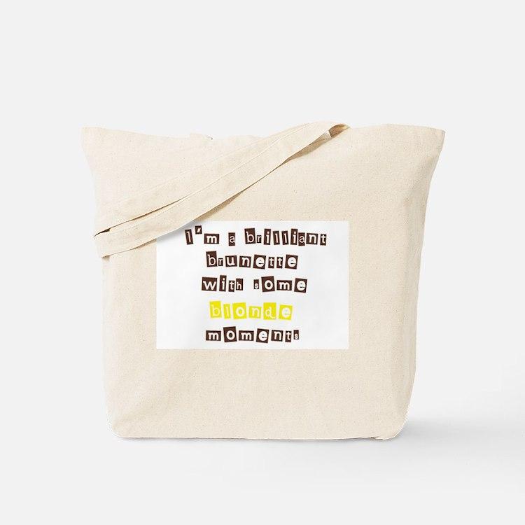 Cute Blonde humor Tote Bag