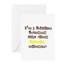 Cute Brilliant Greeting Cards (Pk of 10)