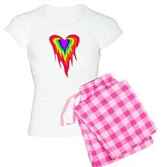 Flaming Heart Pajamas