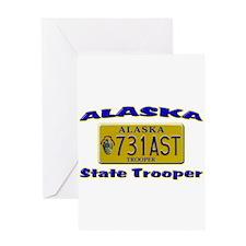 Alaska State Trooper Greeting Card