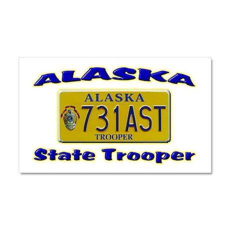 Alaska State Trooper Car Magnet 20 x 12