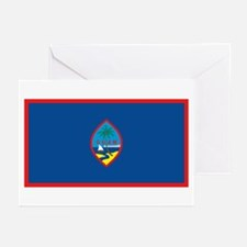 Flag of Guam Greeting Cards (Pk of 10)