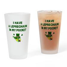 Pocket Leprechaun Drinking Glass