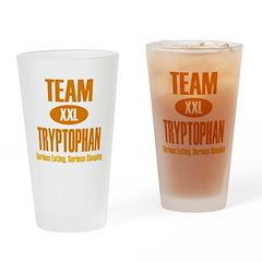 Team Tryptophan Drinking Glass