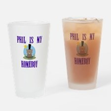 Homeboy Groundhog Day Drinking Glass