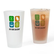 Four Seasons Drinking Glass