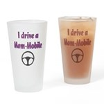 Mom Mobile Drinking Glass