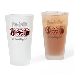 No Travel Required Drinking Glass