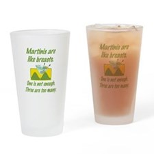 Martinis Drinking Glass