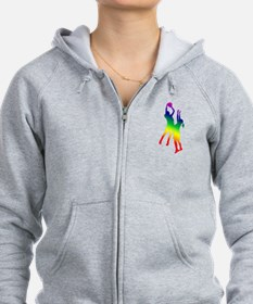 Women's Basketball Zip Hoody