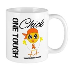 Leukemia One Tough Chick Mug