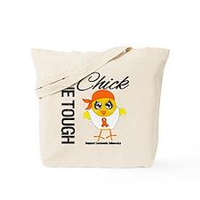Leukemia One Tough Chick Tote Bag