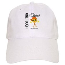 Leukemia One Tough Chick Baseball Cap