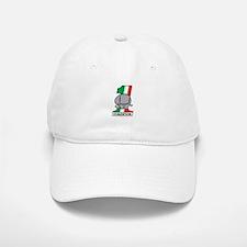 Cafe Elefant-2 Baseball Baseball Cap