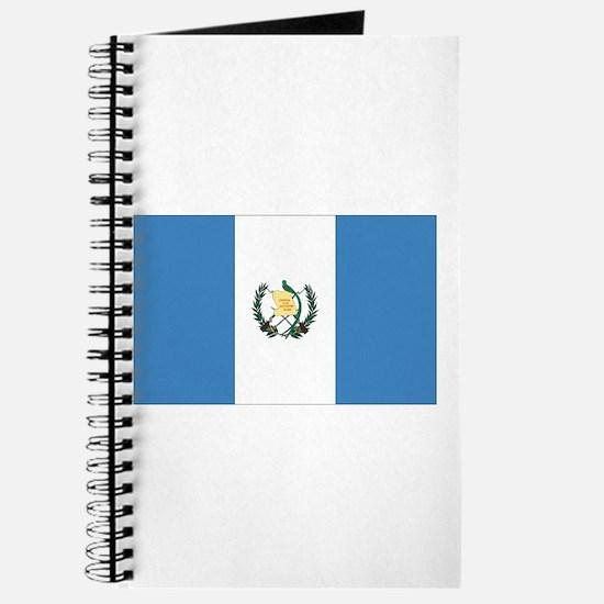 Guatemalan Flag Journal