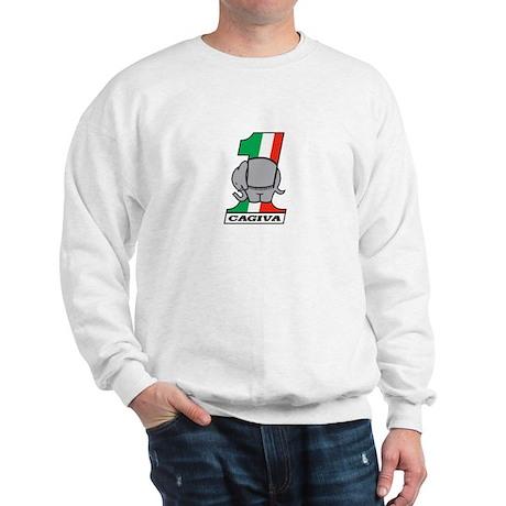 Cafe Elefant-2 Sweatshirt