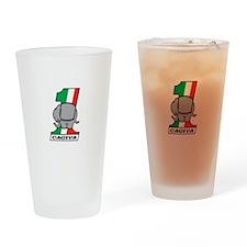 Cafe Elefant-2 Drinking Glass