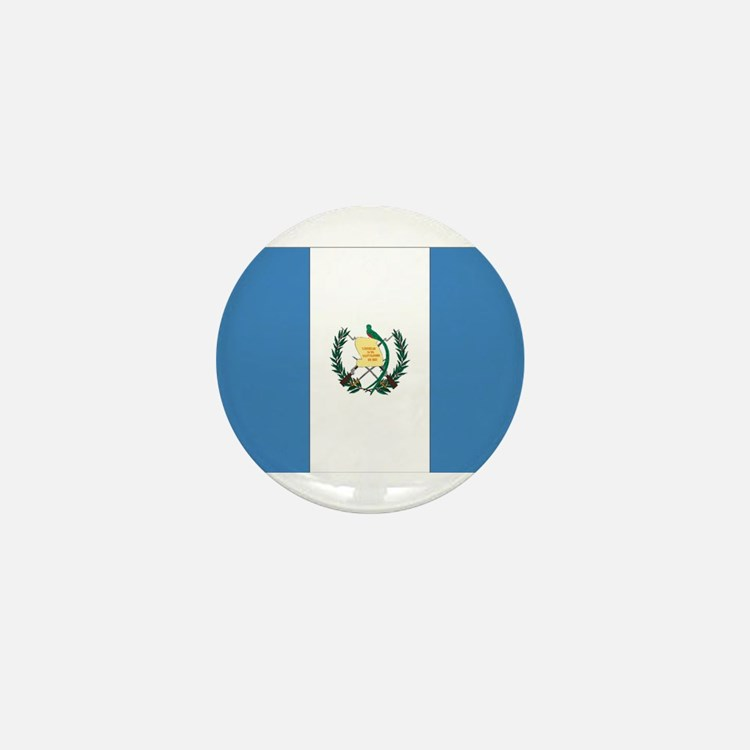 Guatemalan Flag Mini Button