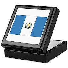 Guatemalan Flag Keepsake Box