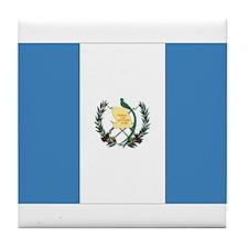 Guatemalan Flag Tile Coaster