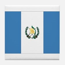 Guatemalan Flag Tile Coaster