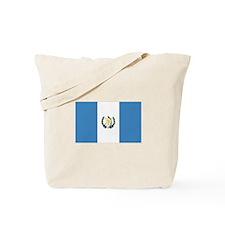 Guatemalan Flag Tote Bag