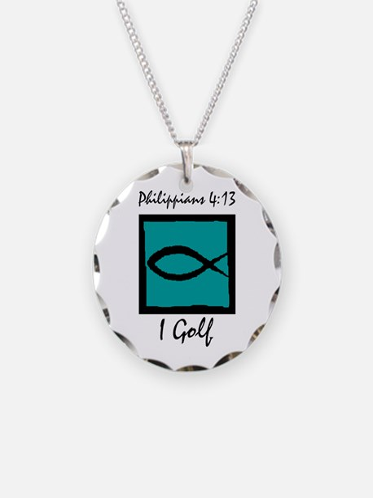 Christian Golfer Necklace