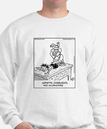 Acupuncture for Pinocchio Sweatshirt