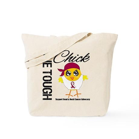 Head Neck Cancer OneToughChick Tote Bag