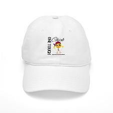 Head Neck Cancer OneToughChick Baseball Cap
